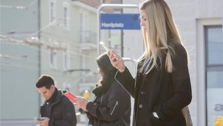 Zusätzlich zu bestehenden Haltestellen sollen Benutzer des «FlexNetz» auch an virtuellen Haltekanten zusteigen können.