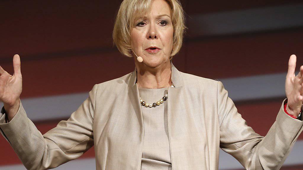SBB-Verwaltungsratspräsidentin Monika Ribar räumt im Zusammenhang mit einem durch die Paradise Papers bekannt gewordenen Mandat Fehler ein. (Archivbild)