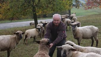 Roland Jufer ist im Alter von 71 Jahren immer noch leidenschaftlicher Schäfer.