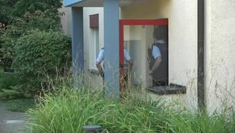 Die Videoaufnahmen zeigen den Ort des Geschehens.
