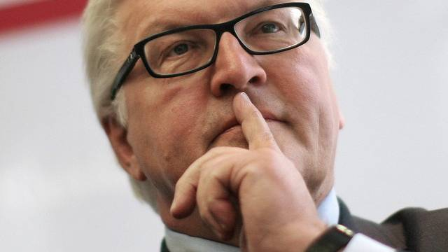 SPD-Politiker Frank-Walter Steinmeier (Archiv)