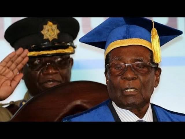 Simbabwe: Erster Auftritt von Robert Mugabe nach Militär-Putsch