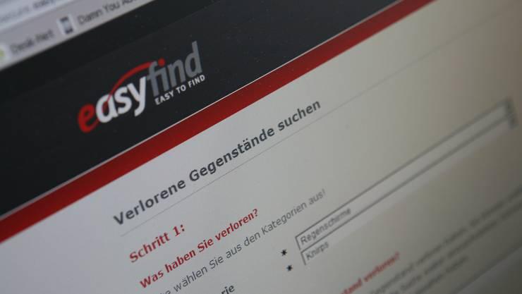 easyfind.ch digitales Fundbüro