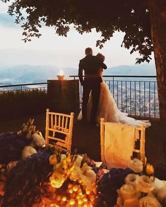 Lara Gut-Behrami und Valon Behramit heirateten im Jahr 2018.