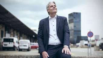 «Die Krise wird den Wandel beschleunigen»: Lukas Ott auf dem ehemaligen Güterbahnhof Wolf.