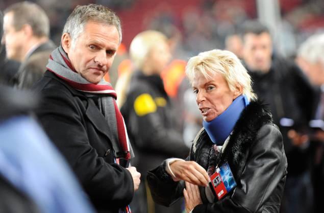 Zu Zeiten von Präsidentin Gigi Oeri übernahm Ruedi Zbinden bereits die Aufgaben eines Sportchefs.