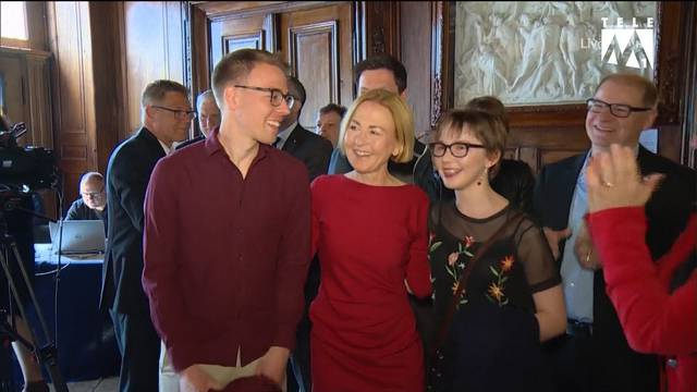 Jubel bei Susanne Schaffner und Brigit Wyss