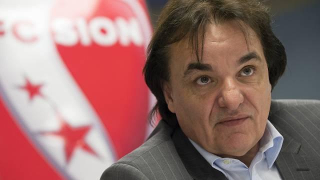 FC-Sion-Präsident Christian Constantin muss dem FC Aarau Geld überweisen