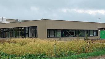 Rund ein Jahr nach dem Fundamentbau wurde das neue Logistikzentrum fertiggestellt.
