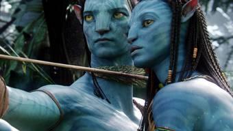 """Ihre Geschichte geht erst 2020 weiter: Die """"Avatar""""-Protagonisten Neytiri (Zoe Saldana, rechts) und Jake (Sam Worthington). (Pressebild)"""