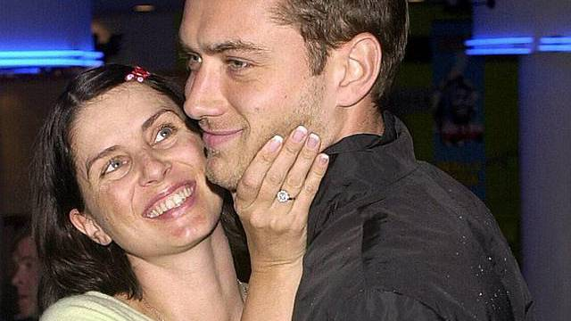 Da waren sie noch glücklich: Sadie Frost und Jude Law (Archiv)