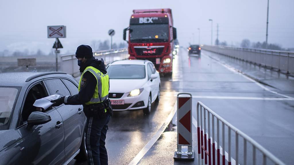 Grenzbrücke zwischen Lustenau und Au muss ersetzt werden
