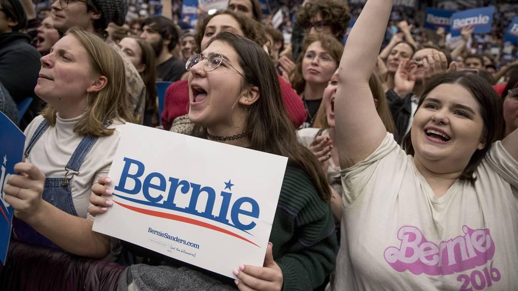Warum Bernie Sanders unter jungen Amerikanern der beliebteste Präsidentschaftskandidat ist