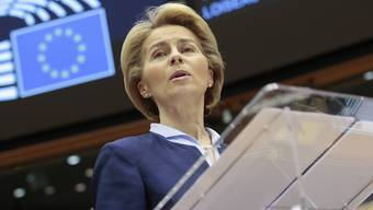 Die EU-Kommissionspräsidentin Ursula von der Leyen macht gegenüber den Briten kurz vor dem Brexit einmal mehr deutlich, dass Grossbritannien nach dem Austritt keinen uneingeschränkten Zugang mehr zum EU-Binnenmarkt haben könne. (Archivbild)