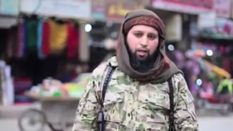 Dieser belgische IS-Kämpfer kündigt in einem Video weitere Anschläge. an.