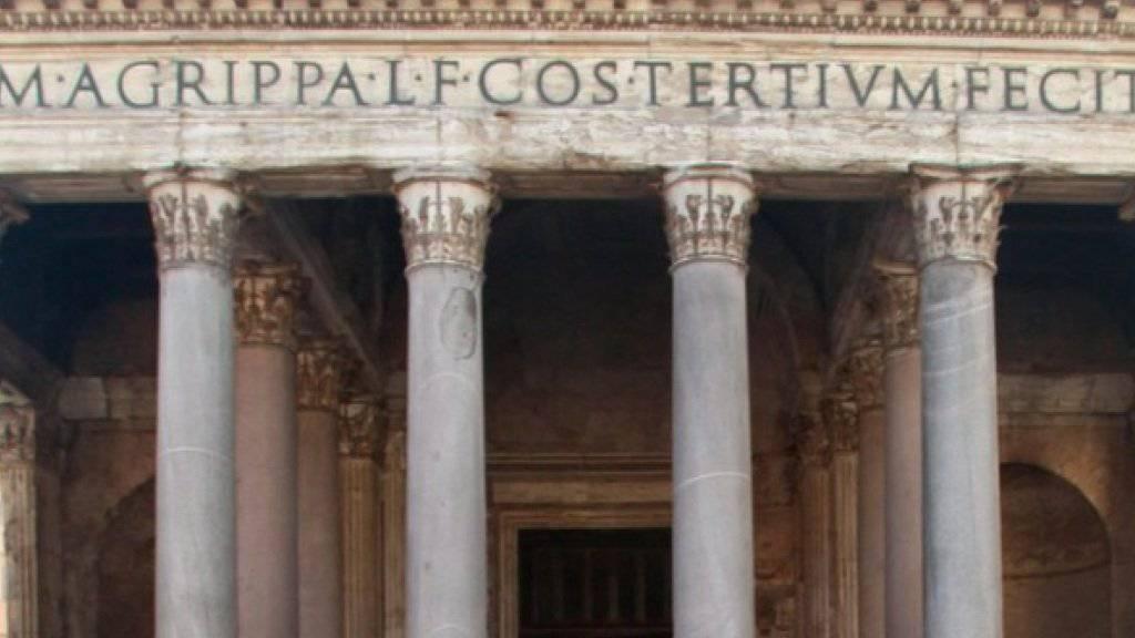 Bald ist auch das Pantheon in Rom nicht mehr gratis (Archiv).