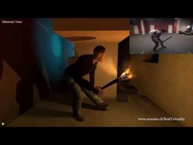 Prepare to be Amazed - Einblick in das «Real Virtuality»-Spiel