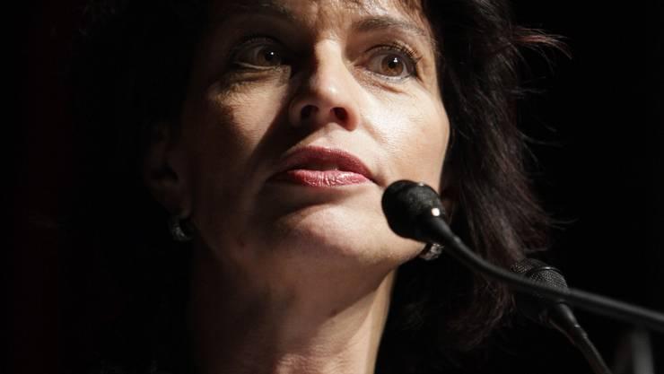 Doris Leuthard: «Die Schweiz wird gestärkt aus der Krise hervorgehen.»