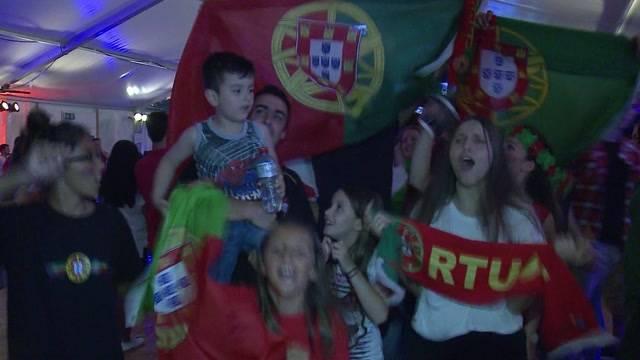 Portugiesen ausser Rand und Band