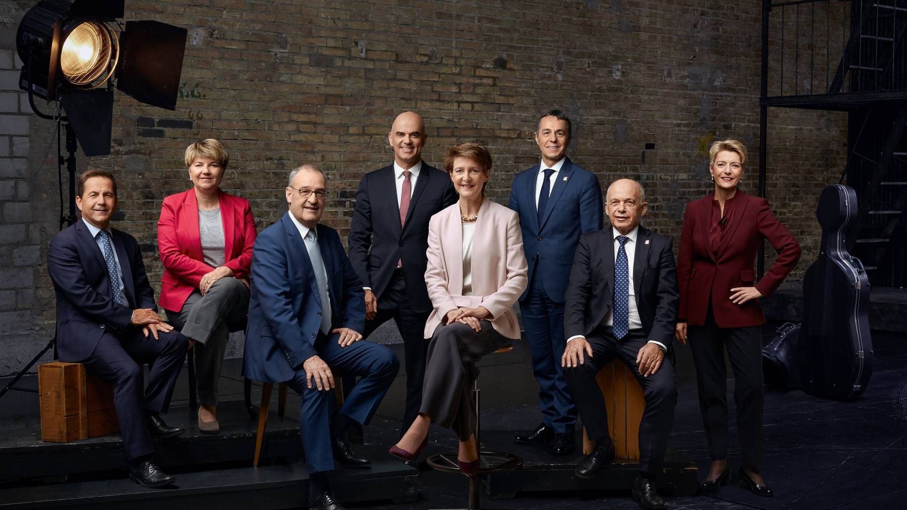 50 Prozent Frauenanteil: Das gesteckte Ziel für die Bundesverwaltung erfüllt der Bundesrat selbst nicht.