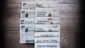 AZ Medien und die NZZ-Mediengruppe wollen ein gemeinsames Regionalmedienunternehmen gründen.