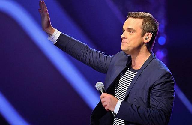 Robbie Williams ist gerne in der Schweiz