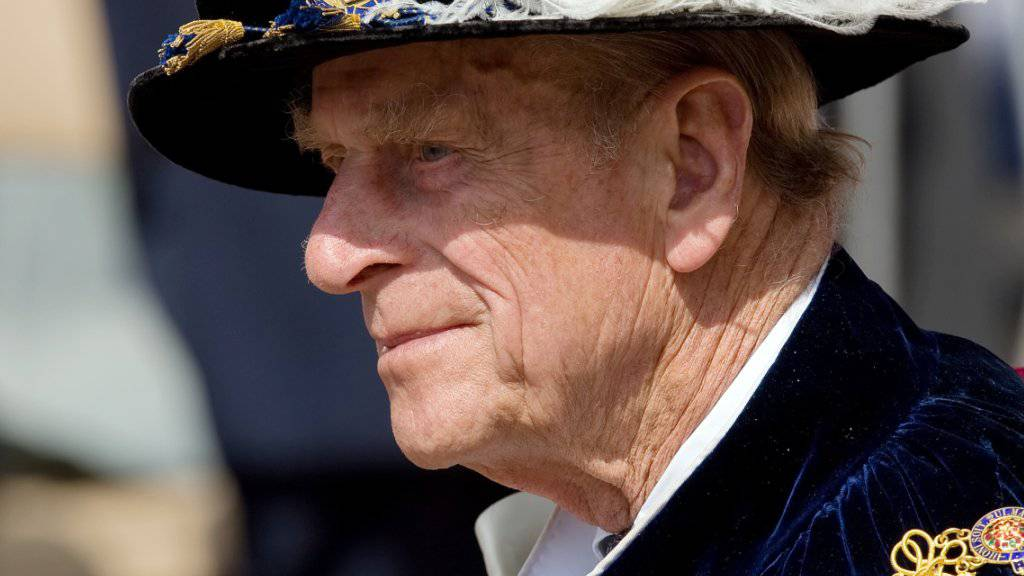 Er hatte noch die Ehre: Prinz Philip wurde in den australischen Ritterstand erhoben - der Titel ist nun Geschichte. (Archiv)