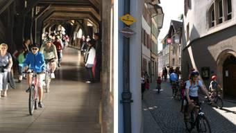 Entlang der 32 Kilometer langen Strecke am Hochrhein bauen dieses Jahr 18 deutsche und Schweizer Vereine Stände auf.