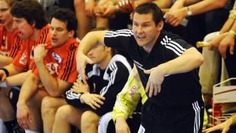 Schaffhausens Coach Petr Hrachovec