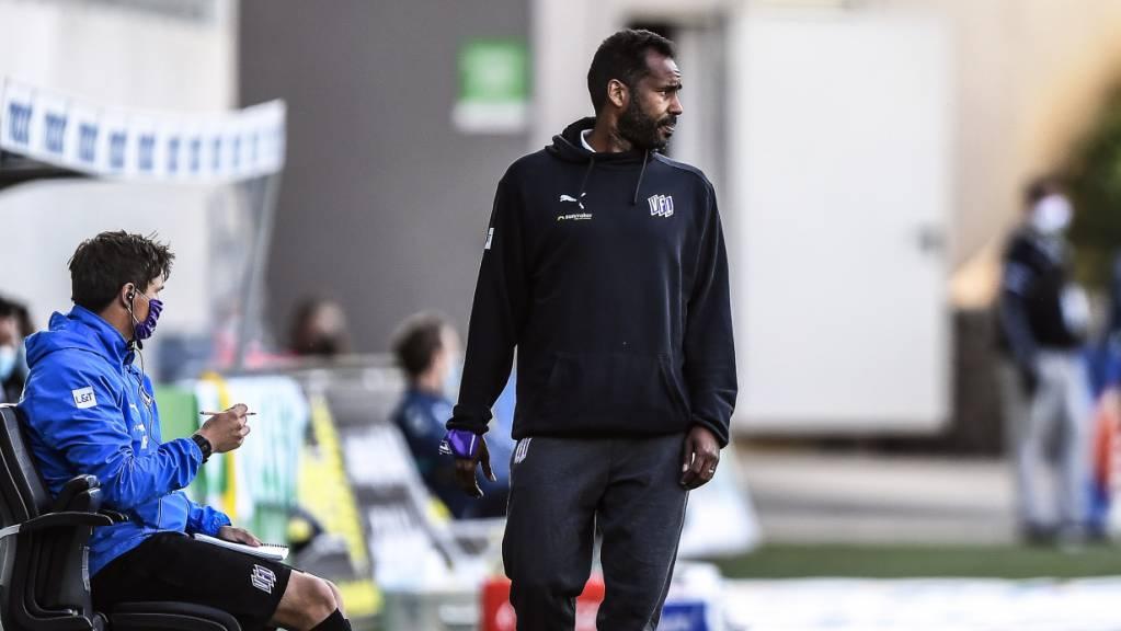 Daniel Thioune ist neuer Trainer des Hamburger SV