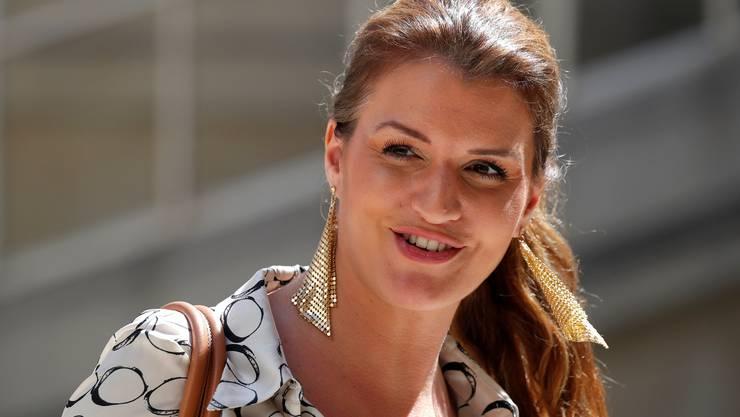 Marlène Schiappa Staatssekretärin für Gleichstellung. Bild: Keystone.