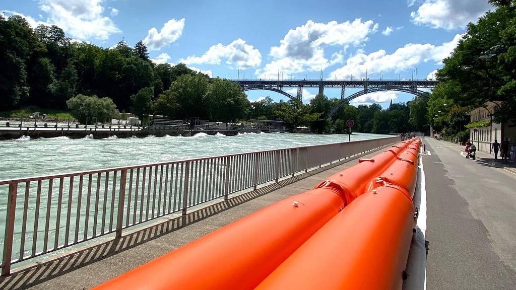 Schutz und Rettung Bern Hochwasser