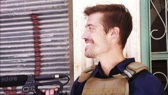 James Foley im July 2012 in der syrischen Stadt Aleppo (Archiv)