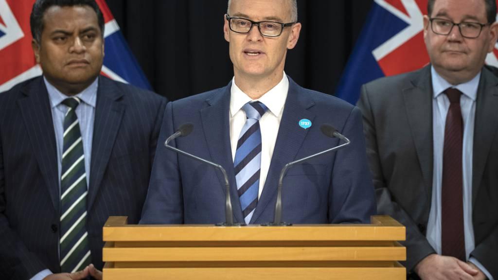Neuseelands Gesundheitsminister tritt nach Corona-Fauxpas ab