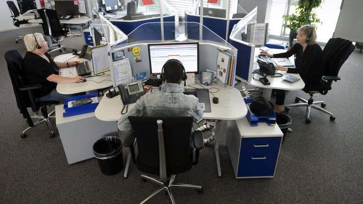 Bürojobs geraten stärker unter Druck. (Symbolbild)