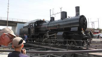 Bahnpark Brugg und SBB Historic