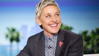 """Ohne politisch zu werden und auf ganz familienfreundliche Weise hat Talkmasterin Ellen DeGeneres am Wochenende Präsident Donald Trumps restriktive Ausländerpolitik kritisiert: Zur Erläuterung zog sie den Film """"Finding Dory"""" bei. (Archivbild)"""