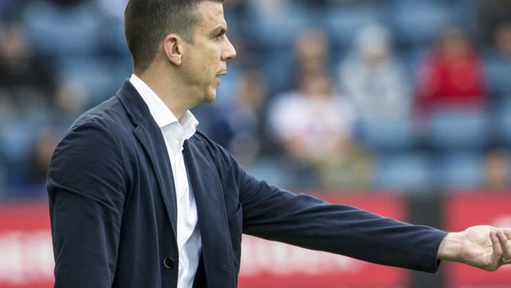 Trainer Bruno Berner ist mit dem SC Kriens auf gutem Weg