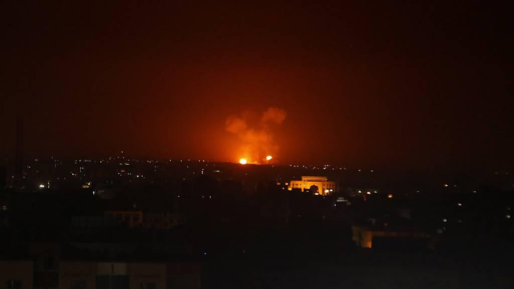 Sechs Tote bei israelischen Angriffen in Syrien