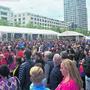 So voll wie noch nie: Bei beliebten Konzerten wurde der Rapidplatz 2018 zum Tollhaus. (Archibild)
