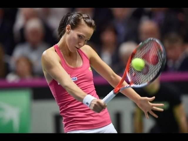Der schönste Punkt des Spiels - erzielt von Viktorija Gobulic.