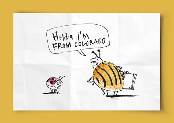 """Der Kartoffelkäfer, ursprünglich aus dem US-Staat Colorado stammend, hat auf unseren Kartoffeläckern schon immense Schäden angerichtet. Er ist nur einer von vielen """"eingewanderten"""" Tier- und Pflanzenarten, die sich nicht zuletzt wegen dem Klimawandel ausbreiten und einheimische Arten verdrängen."""