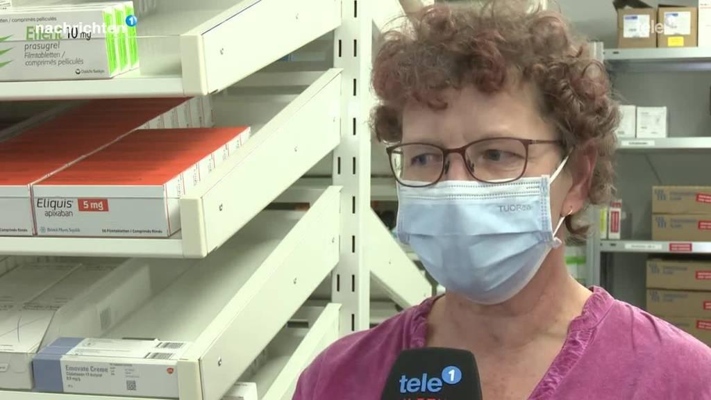In Nidwalden wird der Impfstoff angeliefert