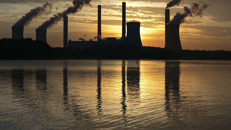 Kohlekraftwerk in Juliette im US-Bundesstaat Georgia. (Archivbild)