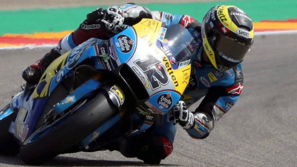 Tom Lüthi fährt noch drei Grands Prix in der MotoGP-Klasse, danach geht es in die Moto2 zurück