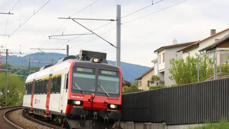 Die Zugfahrt von Zofingen nach Aarau dauert künftig noch 20 Minuten.
