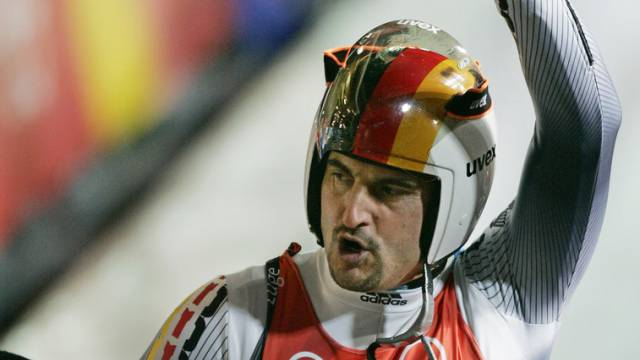 Olympiasieger Georg Hackl (Archiv)