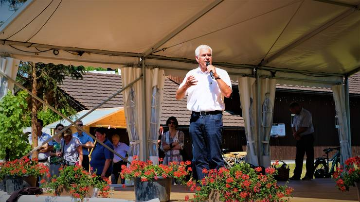Gastredner war Hans Frei, Präsident des Zürcher Bauernverbands.