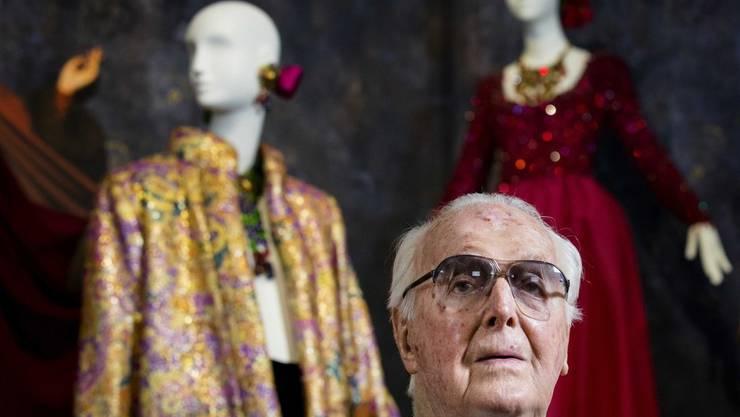 Der französische Modedesigner Hubert de Givenchy ist im März 2018 im Alter von 91 Jahren gestorben. (Archiv)