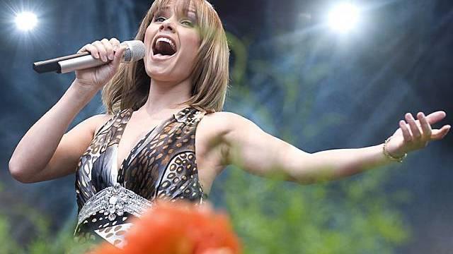 Francine Jordi will nicht Männerphantasien beflügeln (Archiv)